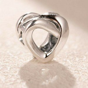 Knotted Heart Charm